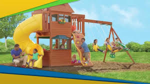 Costco Play Structure Solowave Frontenac Play Centre Youtube