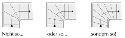 treppen rechner grundriss viertelgewendelte treppen