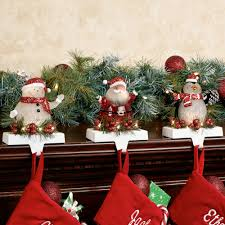 jolly led lighted christmas stocking holder set by roman