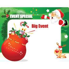 free vector vector big event merry christmas santa claus sharing