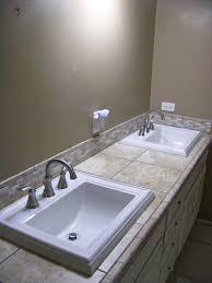 Memoirs Found In A Bathtub Kohler Memoirs Drop In Vitreous China Bathroom Sink In White With