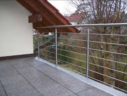 balkon edelstahlgel nder tolle edelstahlgeländer balkon gestaltung optionen für haus außen