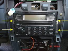 1999 Nissan Frontier Interior 2000 2004 Nissan Frontier Radio Replacement Procedure Nissanhelp Com