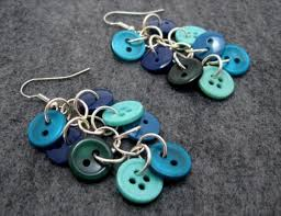 home made earrings 12 diy button crafts jewelry ideas diy and crafts