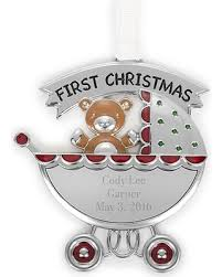 new year s special baby carriage ornament