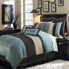 Contemporary Bedding Sets Modern Bedding Sets Pc Modern Color Block Blue Brown