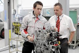 lexus apprenticeships uk top marks for toyota training toyota uk media site