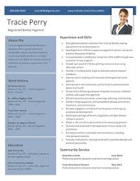 dental hygienist resume modern fonts exles tracie perry dental hygiene resume template dental hygiene