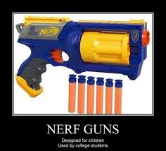 Nerf Gun Meme - nerf guns guns humour and funny pictures
