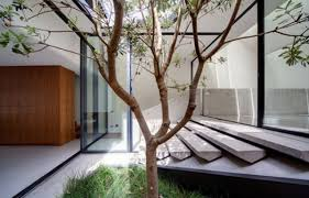 fluid design of skylight home in sydney wave avenue
