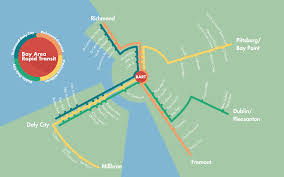 Bay Area Rapid Transit Map Bart Map Redesign U2014 Benci Creative