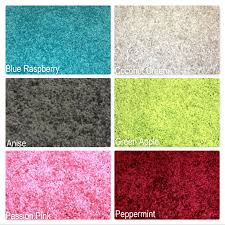 Colorful Shag Rugs Carpet Candy Shag Ultra Soft Indoor Area Rug Collection