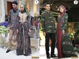 desain baju batik untuk acara resmi hijab cantik baju batik muslim