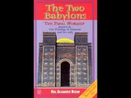 two babylons the two babylons chapter i distinctive characters of the two