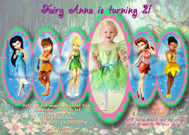 similar tinkerbell u0026 fairy friends digital invitation etsy
