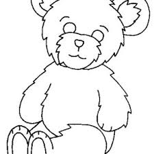 lovely teddy bear coloring color luna