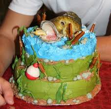92 best cakes fish images on pinterest fishing cakes fish
