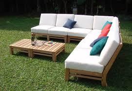 Wholesale Teak Patio Furniture Amazon Com New Luxurious 7 Piece Teak Sectional Sofa Set 2