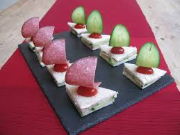 childrens party food ideas sandwich boats finger foods vegan