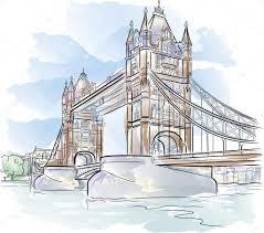 tower bridge in london u2014 stock vector mirumur 6424271