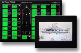 navigation light controller system nls 3000 deckma gmbh