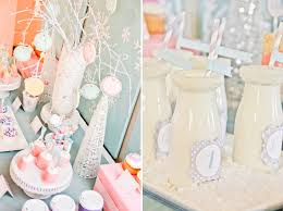 kara u0027s party ideas winter wonderland snow 1st birthday party