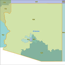 Arizona Maps by Arizona Area Code Maps Arizona Telephone Area Code Maps Free