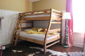 Brilliant Twin Over Full Bunk Bed Plans With Amazing Wood Bunk - Full over full bunk bed plans