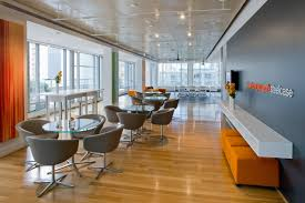 new york united states work cafe office designs and office spaces