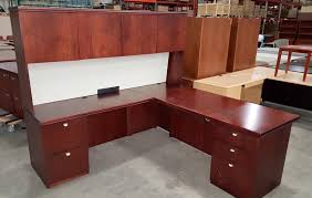 Kimball Office Desk Executive L Desks By Kimball Dynamic Office Services