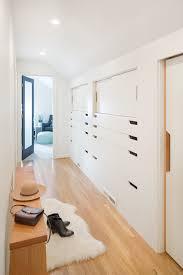 hall closet ideas hall scandinavian with attic closet light wood
