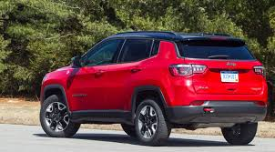 jeep red 2017 2017 jeep compass plugs a gap consumer reports