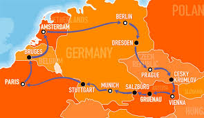 Map Of Stuttgart Germany by Explore Europe With The Busabout Hop On Hop Off Coach Pass