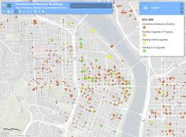 Oregon Earthquake Map by Map Shows 1 800 Portland Buildings That Could Be U0027vulnerable U0027 In