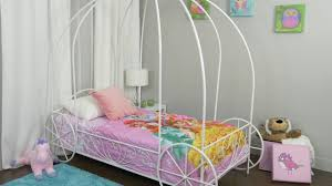 metal twin carriage bed youtube