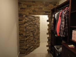 Secret Closet Door Worthy Walk In Closet Remodel Creative Faux Panels A Closets