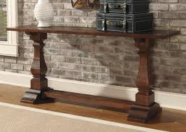 Wooden Console Table Vintage Rustic Console Table T500 804 Occasional Tables From