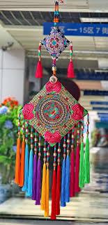 handmade embroidered ethnic wall hanging pendant wall hanging