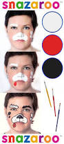 how to face paint a puppy with snazaroo face paints from http