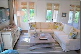 round up coastal slipcover living rooms