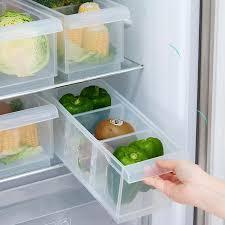 kitchen food storage pantry cabinet drawer design refrigerator storage box plastic freezer food storage bins organizer pantry cabinet for kitchen refrigerator