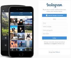 cara membuat akun instagram secara online cara mudah daftar instagram melalui komputer pc laptop