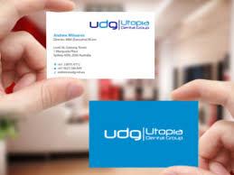 Dental Business Card Designs 342 Upmarket Bold Dental Business Card Designs For A Dental