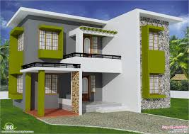 New Contemporary Home Designs In Kerala Sq Feet Flat Roof Home Design House Design Plans Roof Design Plans