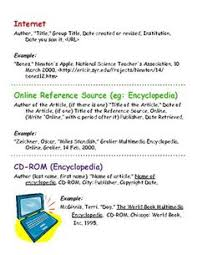 mla parenthetical u0026 works cited cheat sheet for students on