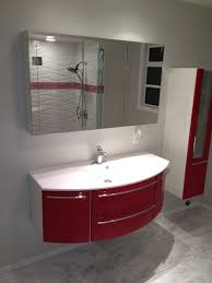 bathroom top fresca energia red modern vanity throughout decor
