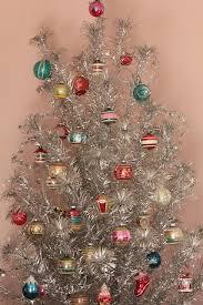 shiny and brite retro tree retro and
