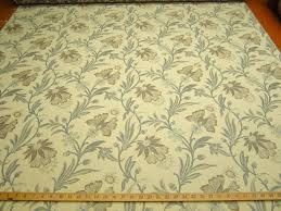 ft109 tangiers floral vine jacquard upholstery fabric color azure