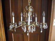 Antique Brass Chandelier Vintage Brass Chandelier Ebay