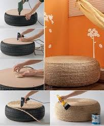 10 creative home decoration ideas tire seats decoration and